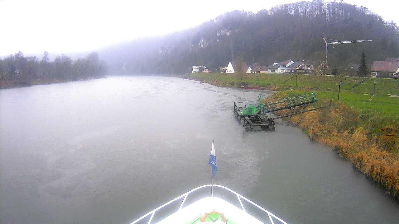 Live-Webcam von der MS Weltenburg